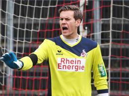 Bleibt mindestens ein weiteres Jahr beim FC: Kölns Ersatztorhüter Thomas Kessler.
