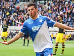 Im Fokus der Leverkusener: Hoffenheims Angreifer Kevin Volland wird von Bayer umworben.