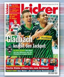 kicker, Ausgabe 42/15
