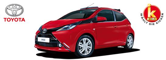 Machen Sie mit und gewinnen Sie einen Toyota Aygo x-wave.