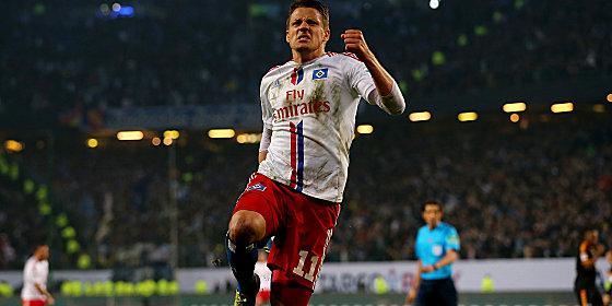 Ivo Ilicevic erzielte das aus HSV-Sicht wichtige 1:1.