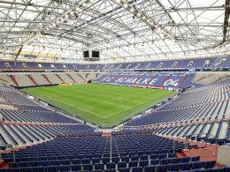 Ein paar Plätze mehr: Das Fassungsvermögen der Schalker Veltins-Arena wurde erhöht.