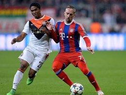 In der kommenden Saison ziehen sie gemeinsam an einem Strang: Douglas Costa und Franck Ribery (re.).