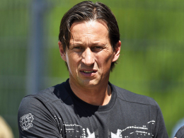 Mit dem taktischen Verhalten seines Teams unzufrieden: Leverkusens Trainer Roger Schmidt.