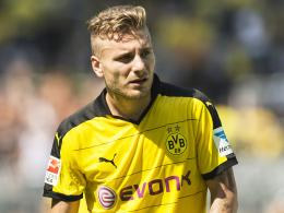 Inszeniert sich als Einzelgänger: Dortmunds Angreifer Ciro Immobile will weg. Unbedingt.
