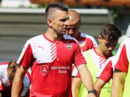 Hat keine Zukunft beim VfB: Stuttgarts Angreifer Vedad Ibisevic.