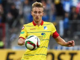 Darf sich bei den Profis empfehlen: Hoffenheims Youngster Joshua Mees (19).