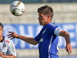 Hat im Test gegen den Wolfsberger AC getroffen: Schalkes Klaas-Jan Huntelaar.