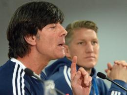 Bastian Schweinsteiger und Jupp Heynckes 2013