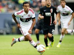 Dreh- und Angelpunkt im Mittelfeld: Bayern Münchens spielstarker Antreiber Thiago.