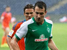 """""""Dynamisch, stark im Eins-gegen-Eins"""": Werder-Sportchef Thomas Eichin lobt Youngster Levin Öztunali."""