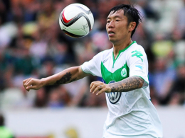 Rückkehr in die Heimat: Wolfsburgs chinesischer Mittelfeldspieler Xizhe Zhang.
