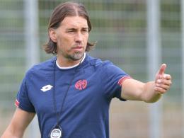Zieht die Zügel gehörig an: Der Mainzer Trainer Martin Schmidt.