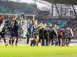 Am 7.12.2004 konnte der FC Ingolstadt in Leipzig die Herbstmeisterschaft feiern.