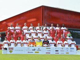 Das neue Mannschaftsfoto des VfB Stuttgart