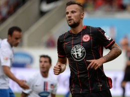 Ist mit seiner Ausbeute seiner ersten Bundesligasaison zufrieden: Haris Seferovic.