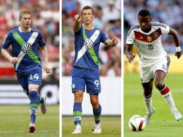 Kevin De Bruyne, Ivan Perisic und Antonio Rüdiger