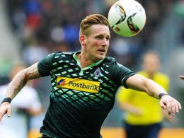 Schnell und kopfballstark: Mönchengladbachs André Hahn.