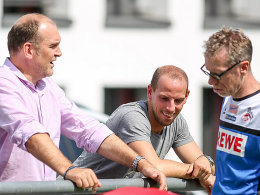 Jörg Schmadtke (links) und Peter Stöger (rechts)