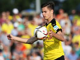 """Besticht mit """"Frische und Unbekümmertheit"""": Dortmunds Neuzugang Julian Weigl."""