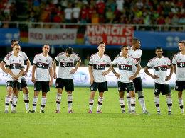 Gut gearbeitet, gut präsentiert - Bayern München hat die China-Reise absolviert.