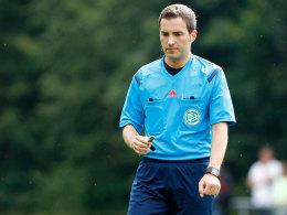 Pfeift künftig mit nur 26 Jahren in der Bundesliga: Benjamin Brand.