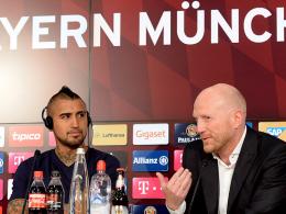 Arturo Vidal und Matthias Sammer
