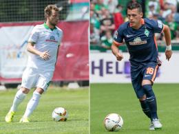 Philipp Bargfrede und Zlatko Junuzovic
