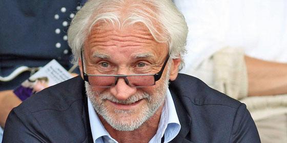 Leverkusens Sportdirektor Rudi V�ller