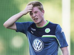 Ist für die Partie im Supercup gegen den FC Bayern fraglich: Wolfsburgs Topstar Kevin De Bruyne.