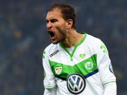 Hat beste Erinnerungen an den FC Bayern: Wolfsburgs Torjäger Bas Dost.