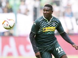 Transfer nach Birmingham noch nicht sicher: Mönchengladbachs Angreifer Peniel Mlapa.