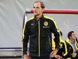 Er war nicht froh über Großkreutz' Gang in die Öffentlichkeit: BVB-Trainer Thomas Tuchel.