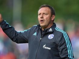 Ist zufrieden mit der Mannschaft: Schalke-Coach André Breitenreiter.