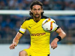 """""""Vielleicht ein Tick zu viel, zu intensiv"""": Dortmunds Innenverteidiger Neven Subotic erlitt einen kleinen Rückschlag."""