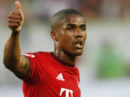 Auff�lligster Bayern-Akteur im Supercup: M�nchens Neuzugang Douglas Costa.