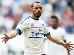 Wird von Trainer Bruno Labbadia nicht geschont: Hamburgs Chilene Marcelo Diaz.