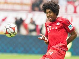 Zurück im Mannschaftstraining: Münchens brasilianischer Innenverteidiger Dante.