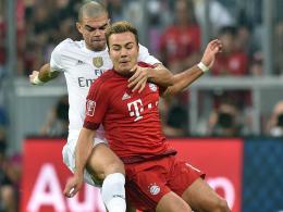 Mario Götze gegen Pepe