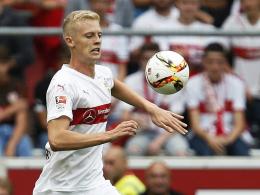 In der VfB-Abwehrzentrale schon gesetzt: Der erst 19-jährige Timo Baumgartl.