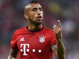 Kampfgeist und Aggressivität sind stets zu spüren: Bayern Münchens Neuzugang Arturo Vidal.