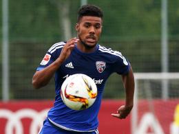 Hat noch Anpassungsprobleme beim Aufsteiger: Ingolstadts Neuzugang Elias Kachunga.