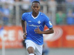 Liefert sich mit Fabian Holland einen Konkurrenzkampf bei Darmstadt: Junior Diaz.