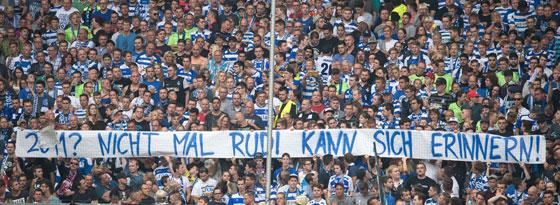 MSV-Fans verunglimpfen Rudi Assauer