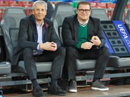 Lucien Favre und Max Eberl