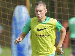 Soll mit Anthony Ujah die Werder-Doppelspitze bilden: Bremens Neuzugang Aron Johannsson.