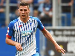Die Zeichen stehen auf Startelf in Leverkusen: Hoffenheims Innenverteidiger Fabian Schär.