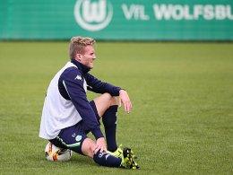 Zwangspause: André Schürrle muss aufgrund von Oberschenkelproblemen zuschauen.