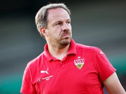 """Spürt """"ein leichtes Vibrieren"""": Stuttgarts Cheftrainer Alexander Zorniger vor dem Saisonstart."""