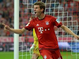 Zwei Tore zum Auftakt: Bayern Münchens Thomas Müller.